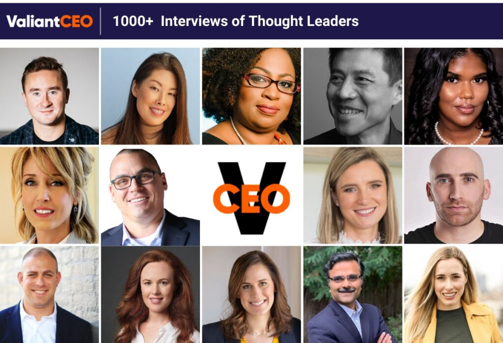 ValiantCEO - Profile Collage Of Interviews